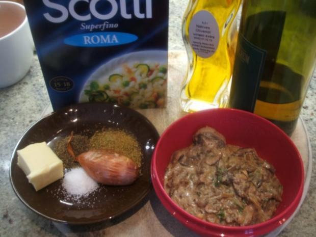 Reis: Risotto mit Pilzen - Rezept - Bild Nr. 2