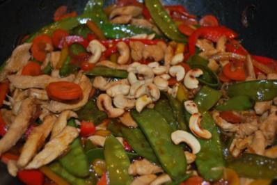 China-Hähnchenpfanne - Rezept