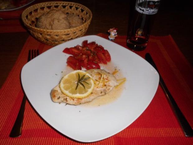 Rosmarin-Zitronen-Hähnchen>> - Rezept