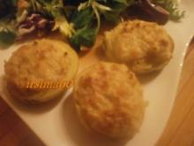 Überbackene Kartoffeln - Rezept
