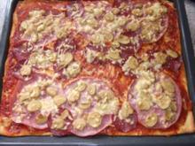 Pizza nach Dieter´s Art - Rezept