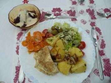 Gemüseteller vegetarisch - Rezept