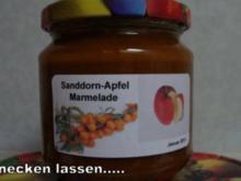 Sanddorn-Apfel Marmelade - Rezept