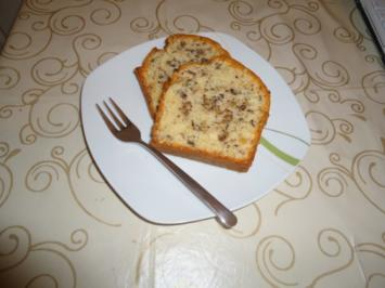 Walnuss Kastenkuchen - Rezept