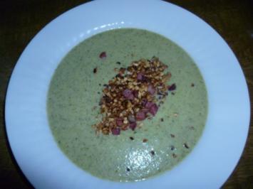 Cremige Brokkolisuppe - Rezept
