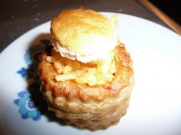 Königin-Pasteten - Rezept