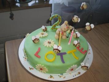 Geburtstagstorte für Lotte - Rezept