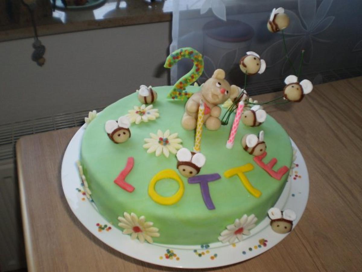 Geburtstagstorte für Lotte Rezept By Olive2