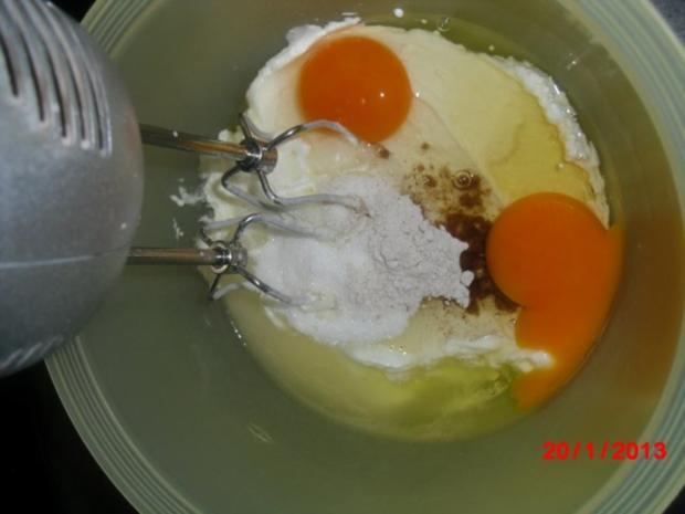 Streusel-Quark-Sahne-Kuchen, - Rezept - Bild Nr. 9