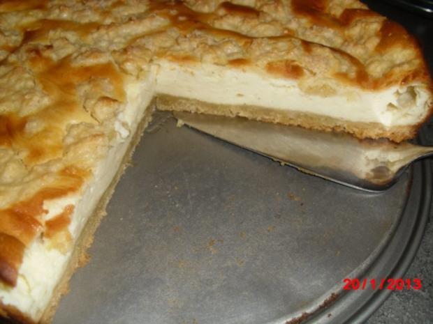 Streusel-Quark-Sahne-Kuchen, - Rezept - Bild Nr. 3