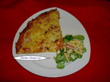 Pizza so wie wir sie mögen - Rezept