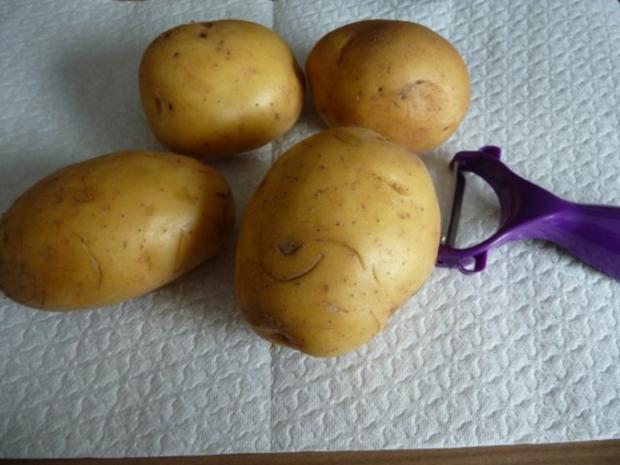 Fisch : Gedünsteter Tilapia an Meerrettich - Dill - Soße mit Kartoffeln und Gurkensalat - Rezept - Bild Nr. 12