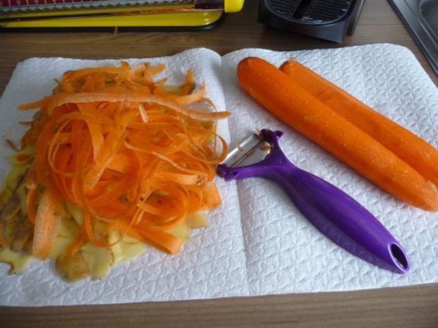 Fisch : Gedünsteter Tilapia an Meerrettich - Dill - Soße mit Kartoffeln und Gurkensalat - Rezept - Bild Nr. 14