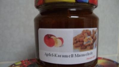 Apfel-Karamell Marmelade - Rezept