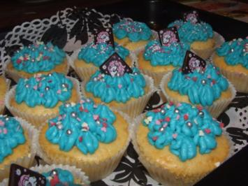Giftige Cupcakes - Rezept