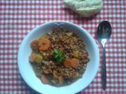 Mango-Kokos-Linsen-Curry - Rezept