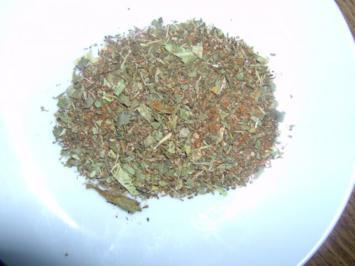 Rezept: Tschubritza Gewürzmischung (Scharena Sol)