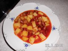 Österreichisches Kartoffel-Gulasch - Rezept