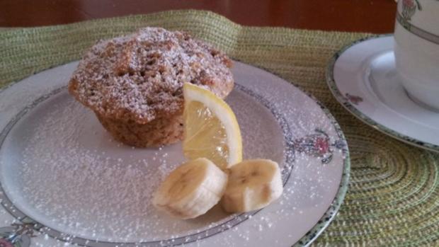 Bananen-Rum Muffins - Rezept