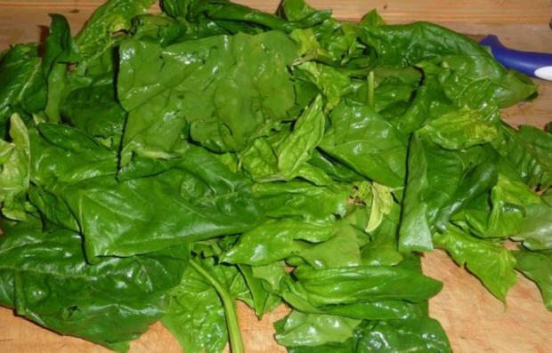 Gemüsebeilage : Petersilie - Lauch -  Spinat - Rezept - Bild Nr. 7