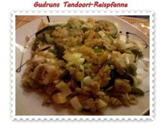 Reis: Tandoori-Reispfanne mit Lauch - Rezept