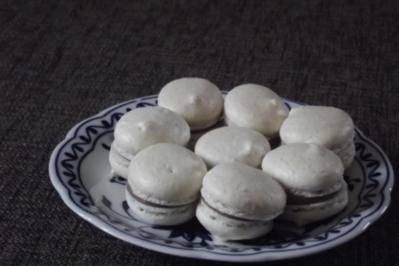 weiße Macarons - Rezept