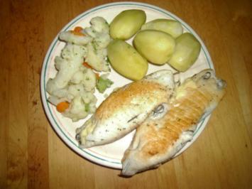 Gefülltes Fischfilet - Rezept