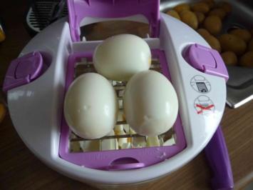 Salat :  Eiersalat schnell mal gemacht - Rezept