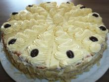 Backen : Buttercreme -Torte  ! - Rezept