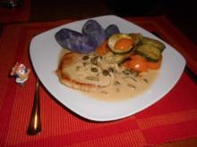 Zucchini-Paprika-Gemüse>> - Rezept
