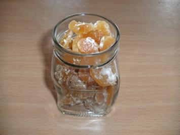 Rezept: Konfekt: Ingwer kandiert