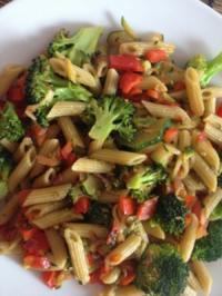 Gemüse-Penne - Rezept