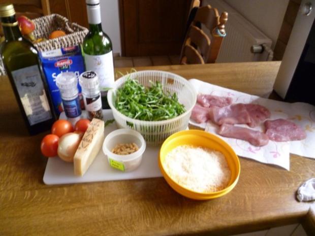 Überbackene Putenschnitzel - Rezept - Bild Nr. 2