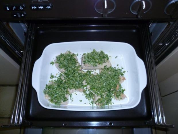 Überbackene Putenschnitzel - Rezept - Bild Nr. 9
