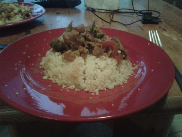 Couscous mit Fisch und Meeresfrüchten - Rezept - Bild Nr. 3