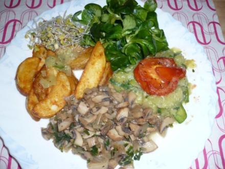 Gemüseteller - Rezept