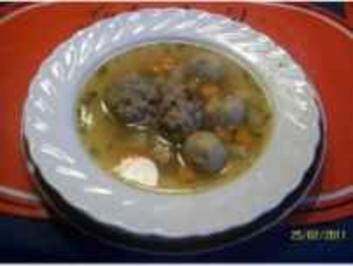 Rezept: Suppen: Opa Alfred`Festtagssuppe