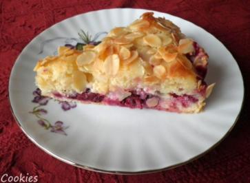 Crème fraîche - Kuchen ... - Rezept