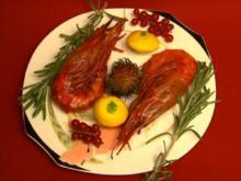Arielles Freunde - Gambas und gefüllte Paprika (Jörg Krusche) - Rezept