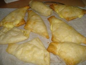 Griechische Käsedreiecke - Rezept