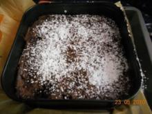 Kuchen:Schokokuchen innen noch flüssig - Rezept