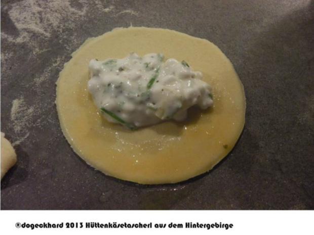 Hüttenkäse Tascherl aus dem oberösterreichischen Hintergebirge - Rezept - Bild Nr. 10