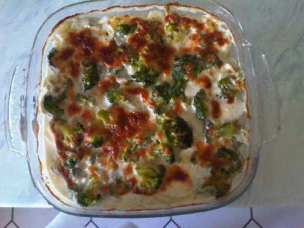Kartoffel-Broccoli-Auflauf - Rezept