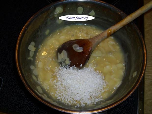 Vanillesahne im Florentinertörtchen & Schoko-Orangen-Sahne mit Mangoscheiben als Törtchen - Rezept - Bild Nr. 7