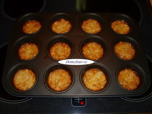 Vanillesahne im Florentinertörtchen & Schoko-Orangen-Sahne mit Mangoscheiben als Törtchen - Rezept - Bild Nr. 8