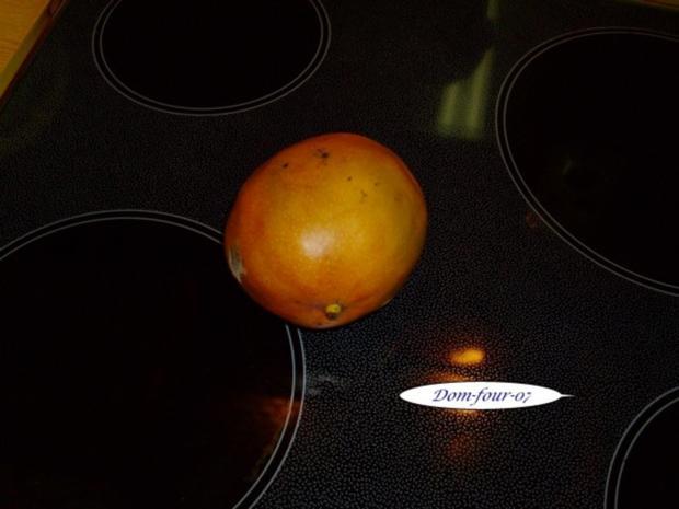 Vanillesahne im Florentinertörtchen & Schoko-Orangen-Sahne mit Mangoscheiben als Törtchen - Rezept - Bild Nr. 9