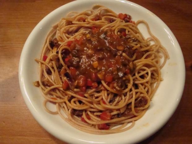 Bolognese ohne Fleisch - Rezept