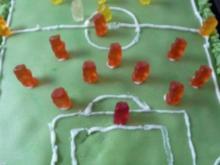Fußballfeld-Kuchen - Rezept