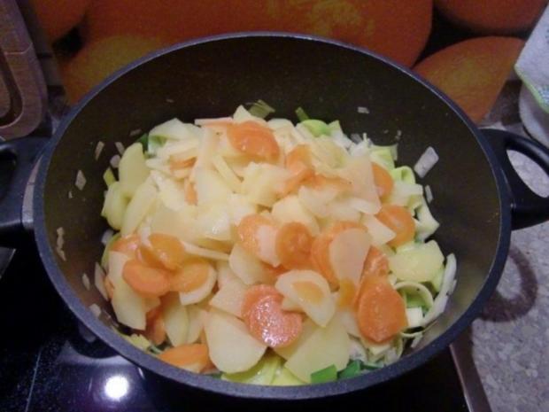 Hähnchenbrustfilet auf einem Kartoffel-Lauch-Bett à la Heiko - Rezept - Bild Nr. 10