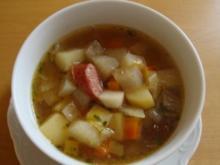 Winter Gemüse Eintopf - Rezept